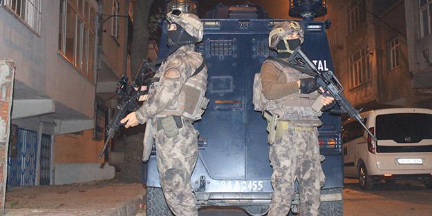 İstanbul'da özel harekat destekli şafak operasyonu! 25 kişi gözaltına alındı