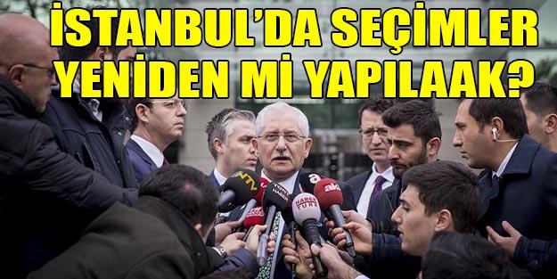 İstanbul'da seçimler yeniden mi yapılacak?