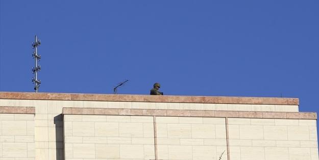 Stanbulda Silahl ABD Askerleri Konsolosluk Atsna Kt