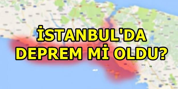 İstanbul'da son dakika deprem mi oldu? 11 Ocak İstanbul deprem nerede, kaç şiddetinde oldu?