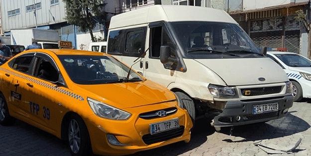 İstanbul'da taksici dehşeti!