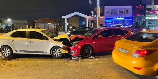 İstanbul'da trafik kazası: 6 yaralı