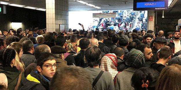 İstanbul'da ulaşım çilesi! Metrodan sonra şimdi de metrobüs