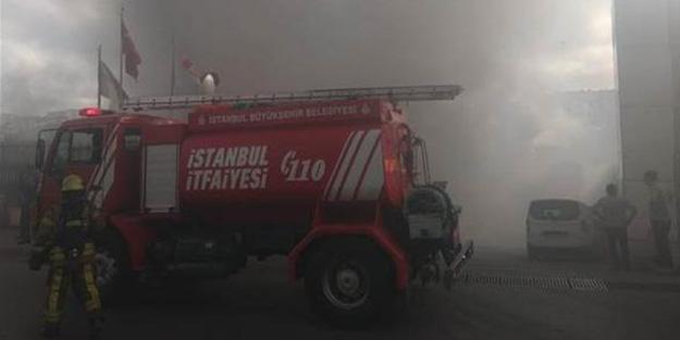 İstanbul'da yangın! Müdahale ediliyor