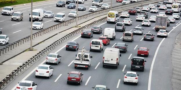 İstanbul'daki motorlu araç sayısı belli oldu! Bakın trafikte ne kadar araç var