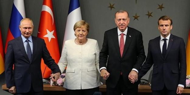 Ä°stanbul'daki Suriye Zirvesi,hainleri korkuttu!