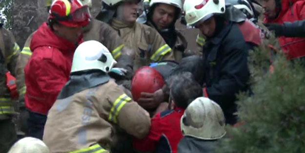 İstanbul'dan acı haber! Çöken binanın enkazından...