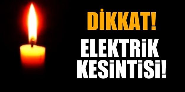 İstanbullular dikkat! Bazı ilçelerde elektrik kesintisi