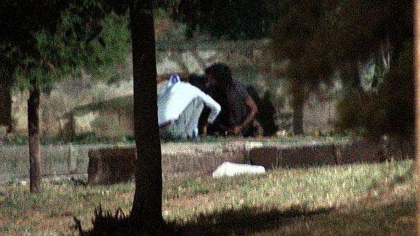 İstanbul'un göbeğinde uyuşturucu kullandılar