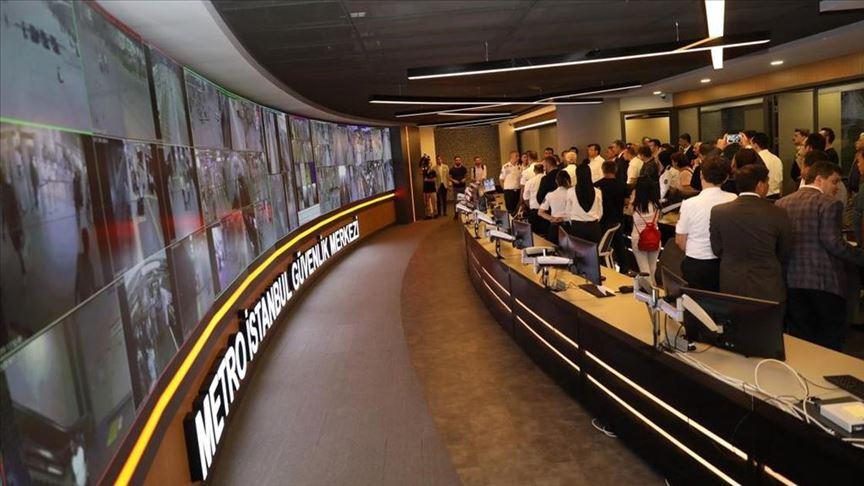 İstanbul'un metro ağı 7 bin kamerayla 24 saat izleniyor