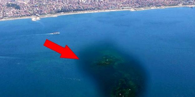 İstanbul'un tam ortasında! Depremle sulara gömüldü, haritalar incelenirken keşfedildi