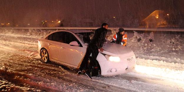 İstanbul'un yanı başı... İlk kar tatili haberi geldi