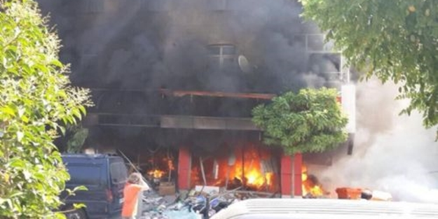 İstandul'da korkunç patlama