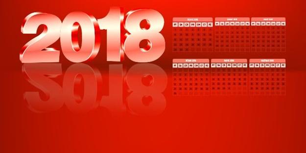 İŞTE 2018 YILI 'DİNİ GÜNLER' TAKVİMİ