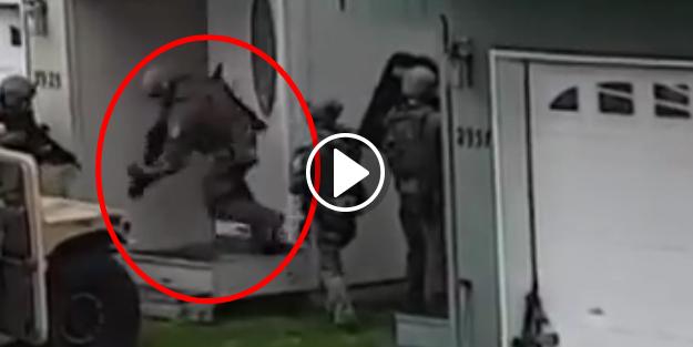 İşte ABD'nin özel timi SWAT'ın rezil olduğu anlar!