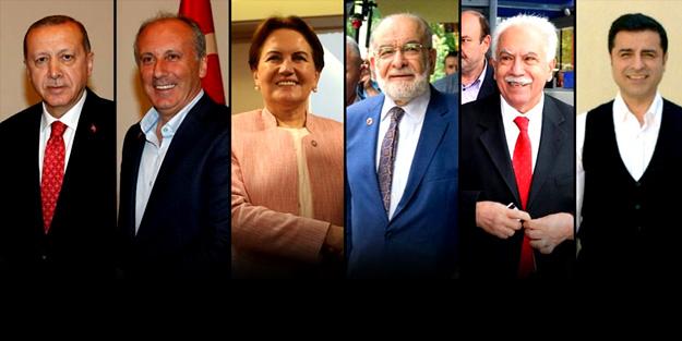 İşte açıklanan en son anket! Erdoğan hariç diğerleri...