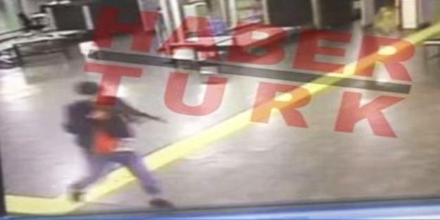 İşte Atatürk Havalimanı'ndaki teröristin görüntüsü!