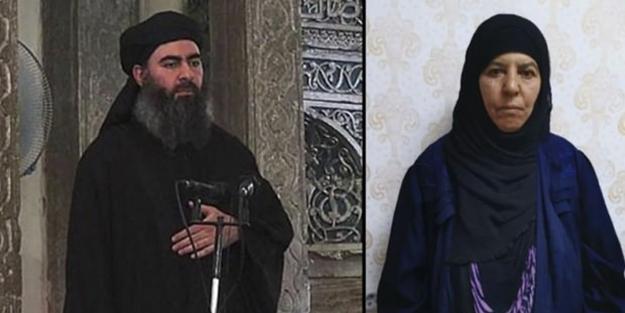 İşte DEAŞ lideri Bağdadi'nin yakalanan ablası!