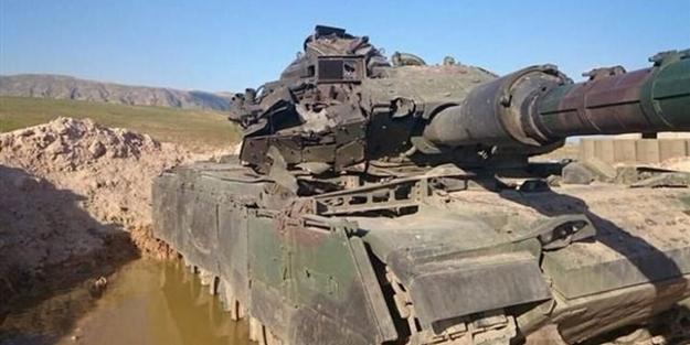İşte DAEŞ'in Başika'da saldırdığı Türk tankı!