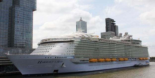 İşte dünyanın en büyük gemisi...