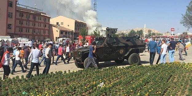 İşte Elazığ'daki patlamadan ilk görüntüler! -VİDEO