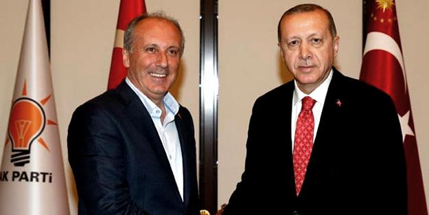 İşte Erdoğan-Muharrem İnce görüşmesinin detayları!