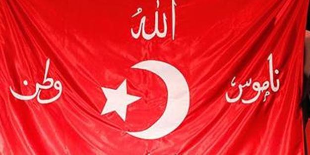 İşte Erdoğan'a gönderilen Osmanlı savaş sancağının hikayesi