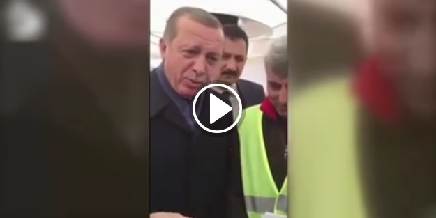 İşte Erdoğan'ın 'hayır' çadırındaki en net görüntüsü