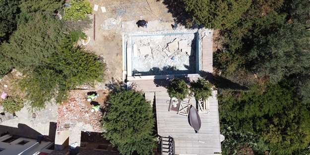 İşte FETÖ'cü Can Dündar'ın villasının son hali