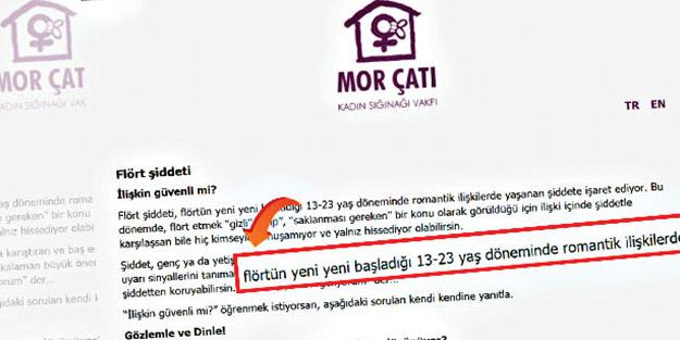 İşte genç evlilerin mağduriyetinin giderilmesine karşı çıkan Mor Çete'nin bakış açısı! Nikâh 'taciz' zina 'flört'