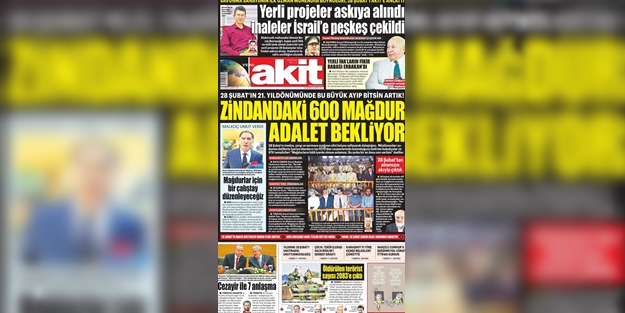 İşte günün gazete manşetleri (28 Şubat 2018)