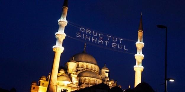 İşte İstanbul sahur ve iftar vakitleri (2017)