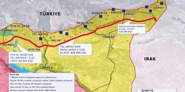 İşte Türkiye'nin güvenli bölge planı!