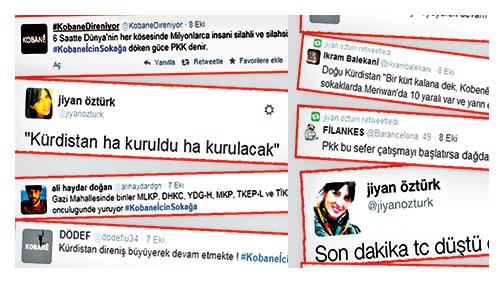 İşte o tweetler
