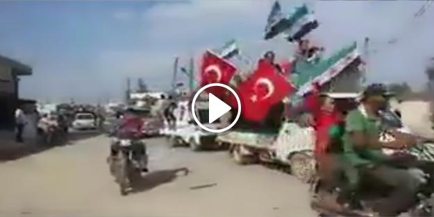 İşte 'Özgür Suriye'deki 15 Temmuz anma etkinlikleri