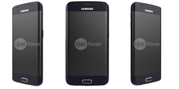 İşte Samsung Galaxy S6 Edge'nin ilk görüntüleri!