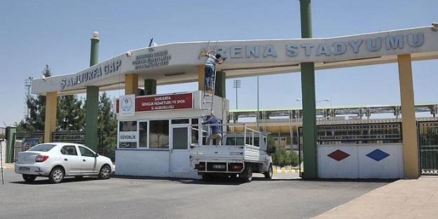 İşte Şanlıurfa'daki stadın yeni adı