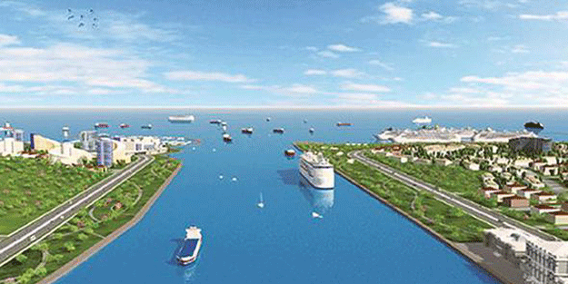 İşte şanslı dört ilçe… Kanal İstanbul'un güzergahı belli oldu