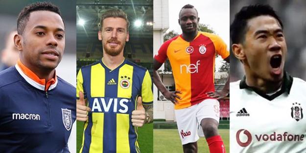 İşte Süper Lig'in devre arası transferleri