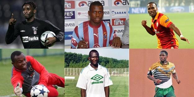 İşte Süper Lig'in unutulmaz Afrikalı futbolcuları