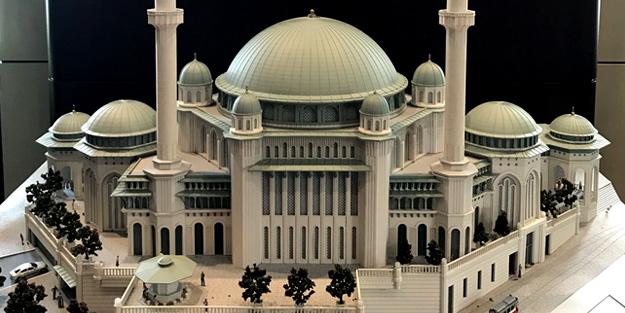 İşte Taksim Camii projesinin son hali!