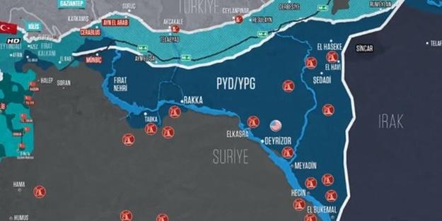 İşte terör örgütü YPG'nin Suriye'deki petrol kuyuları!