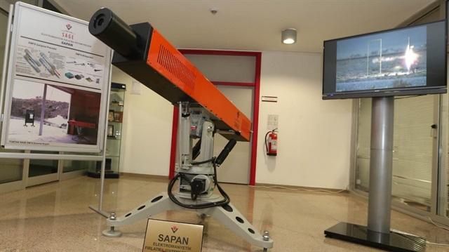 İşte Türkiye'nin elektromanyetik silahı Sapan