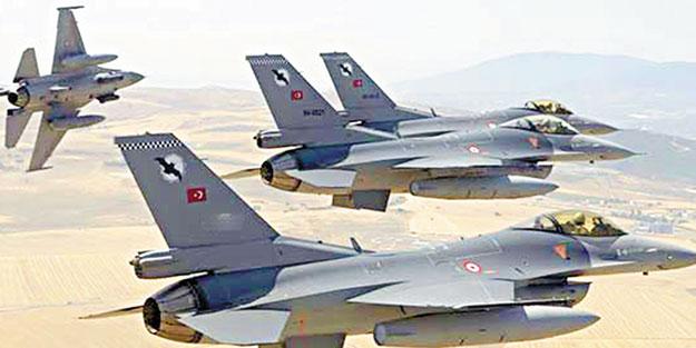 İste vurulan PKK kampları