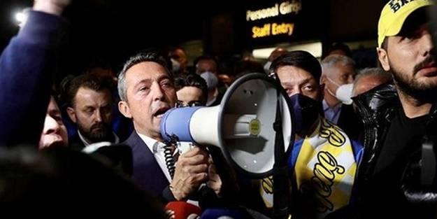 İstifaya çağrılarına Fenerbahçe Başkanı Ali Koç'tan cevap: Taraftar haklı