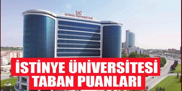 İstinye Üniversitesi taban puanları 2019