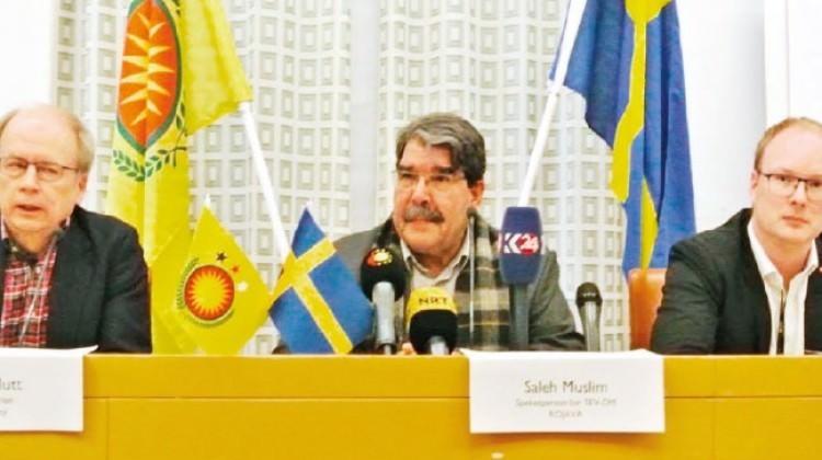 İsveç 'bizde yok' dedi parlamentodan çıktı!