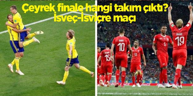İsveç İsviçre maçı sonucu ne oldu?