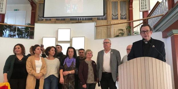 İsveç kilisesinde PKK ayini