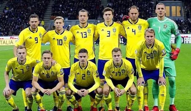 İsveç'in Türkiye maçı kadrosu açıklandı!